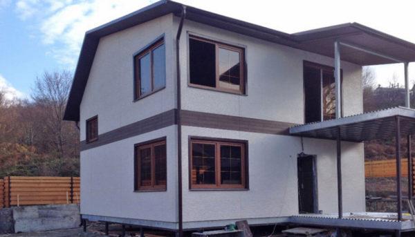 Строительство частного дома в Дагомысе