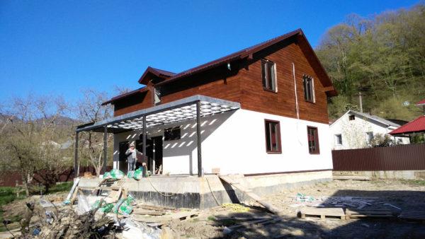 Жилой дом из ЛСТК в Катковой Щели