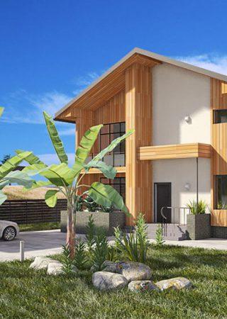 Проект частного жилого дома в Сочи